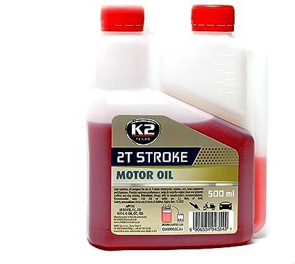 K2 aceite de motor 2T Semi sintético rendimiento dos tiempos ...