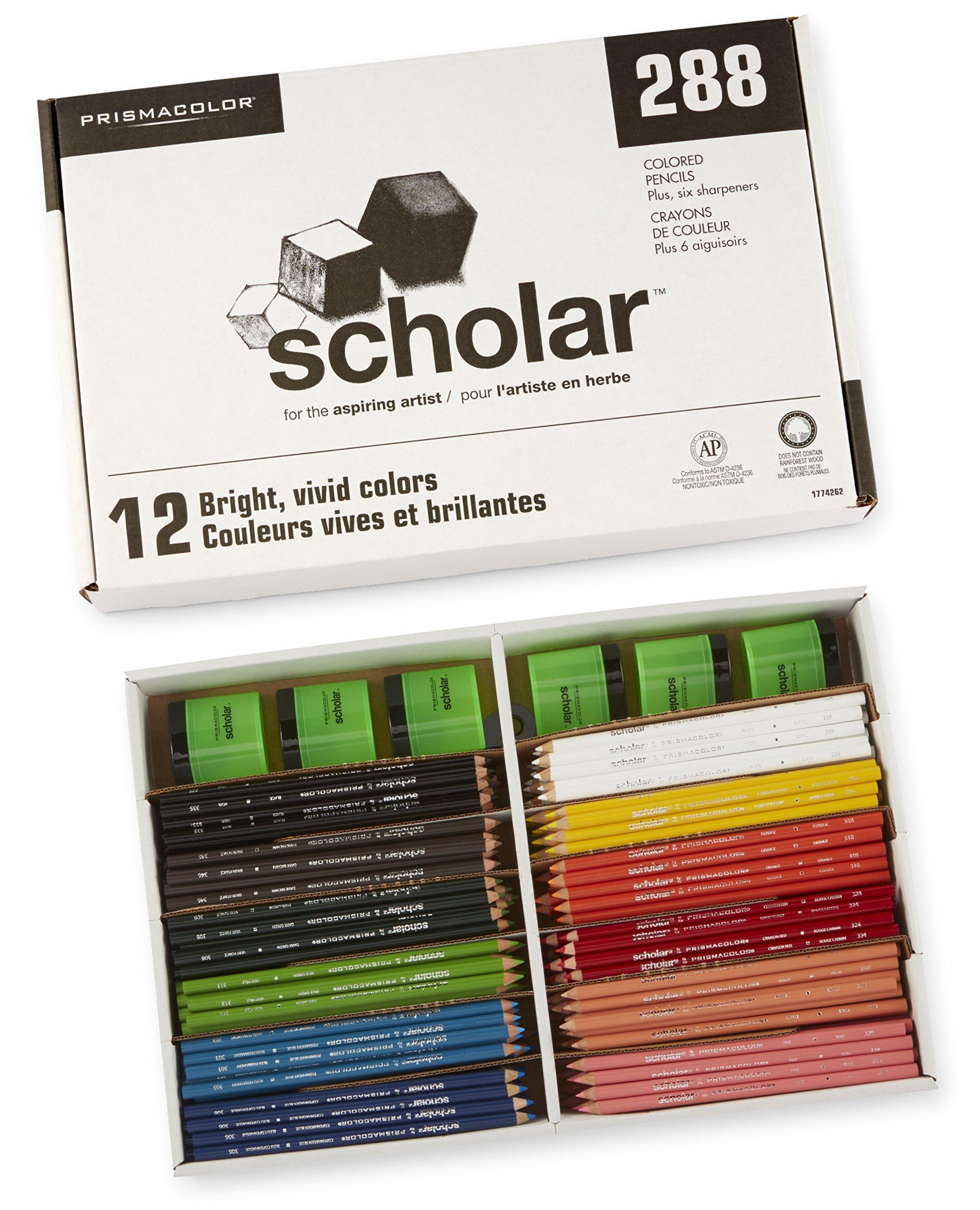 Prismacolor   Class Pack Wood Colored Pencil   (1774262)