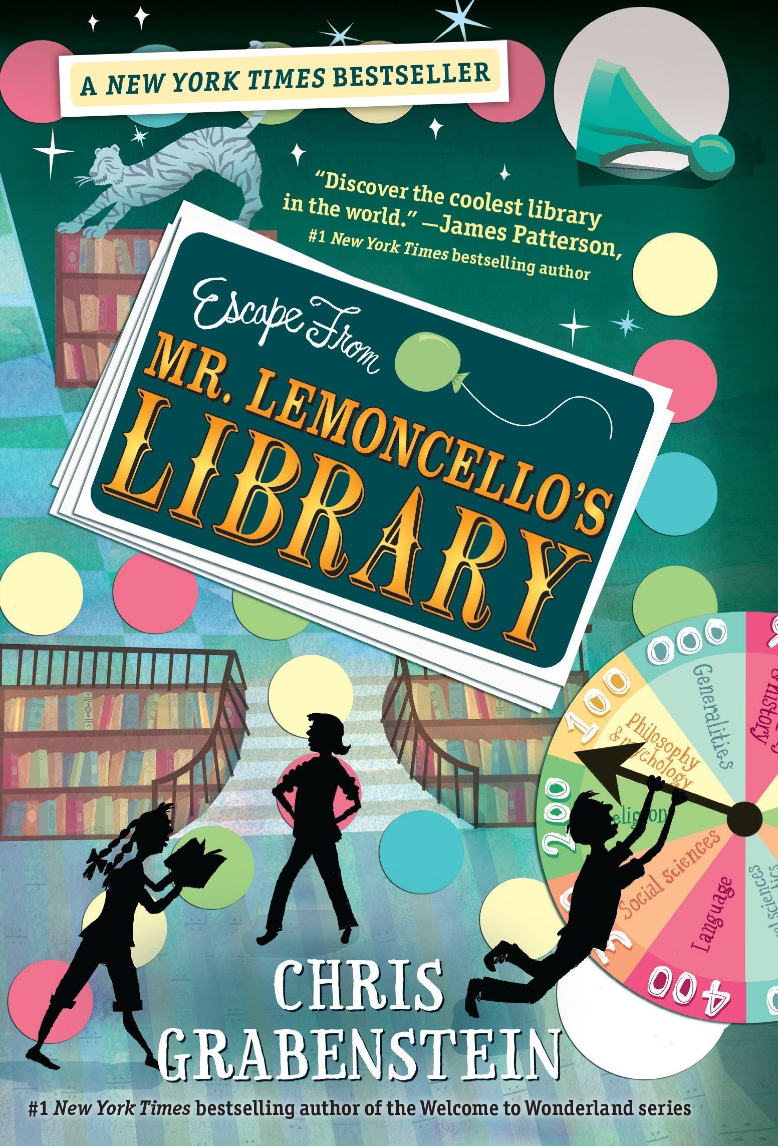 Image result for escape from lemoncello's library