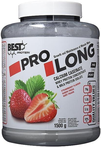 Best Protein Pro Long Fresa - 1500 gr
