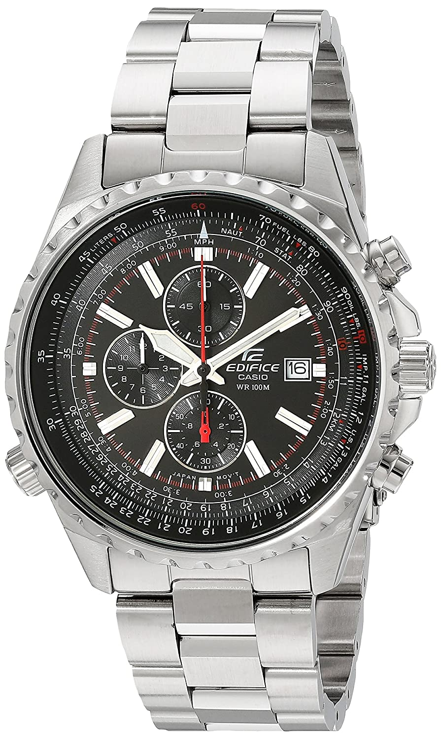 73f8ab104b4 Amazon.com  Casio Men s Edifice EF527D-1AV Stainless Steel Multi-Function  Watch  Casio  Watches