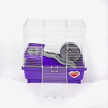 Kaytee My First Home Habitat For Hamster 2 Story 14 By 10 Inch