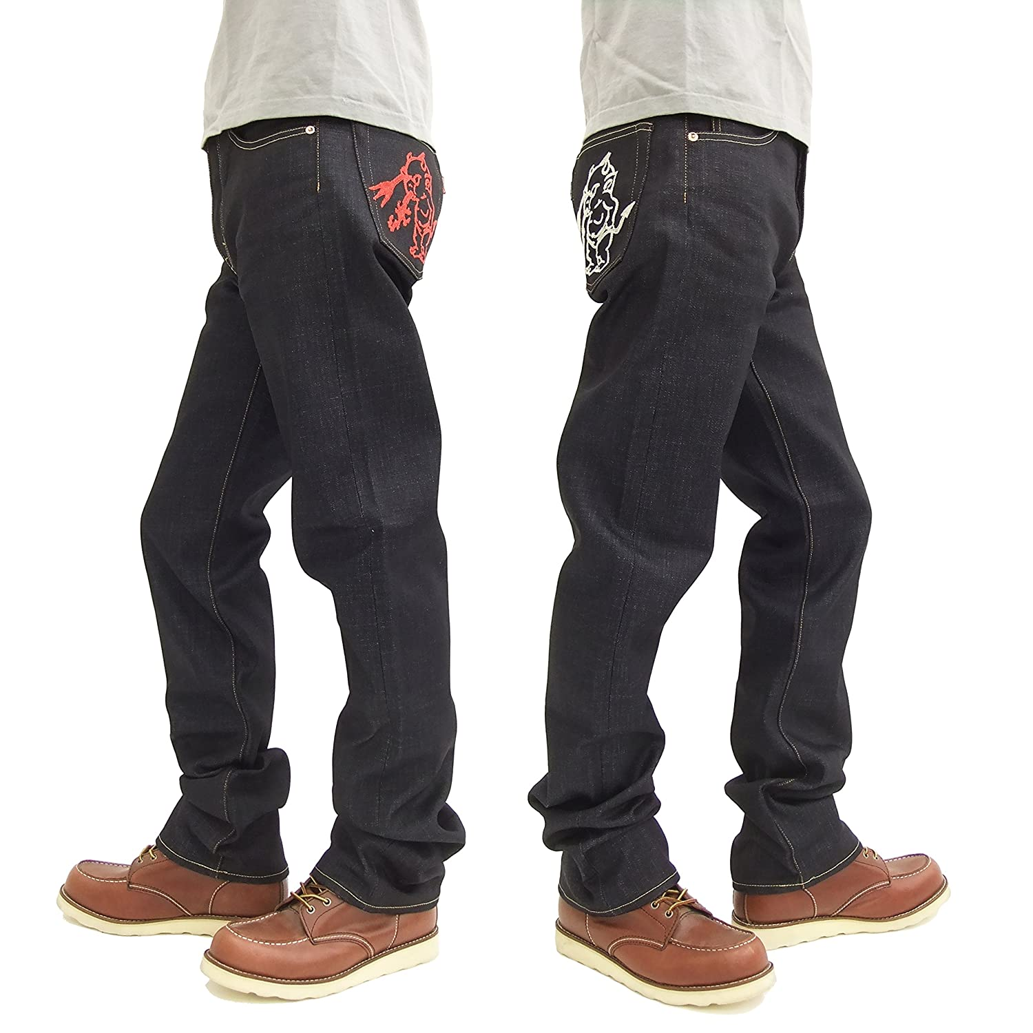 TEDMAN Embroidered Jeans devil-005r Mens Denim Pant