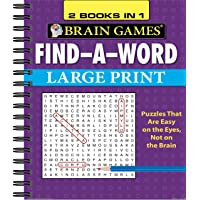 Brain Games Find a Word Large Print