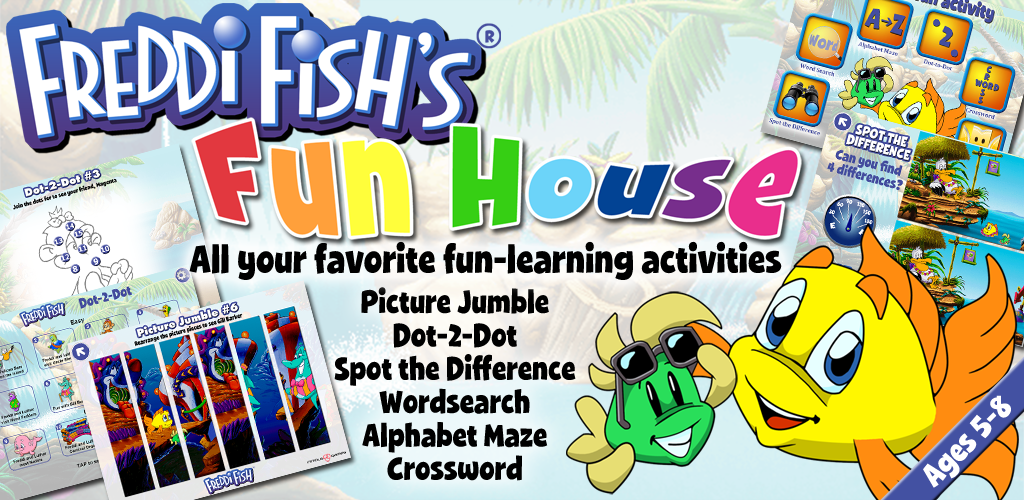 Humongous entertainment spy fox in cheese chase kid games for Freddi fish online