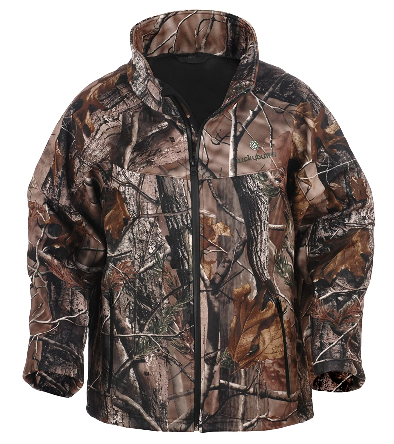 Lucky Bums Kid's Soft Shell Jacket, (X-Small, Camo Realtree APHD) 200APXS