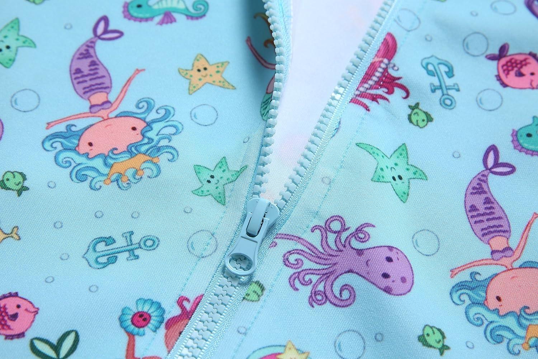 Girls Zip Up Hoodie Jacket Unicorn//Cat Sweatshirt with Pockets