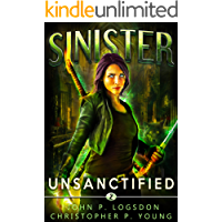 Sinister: Unsanctified (Black Ops Paranormal Police Department Book 2) book cover