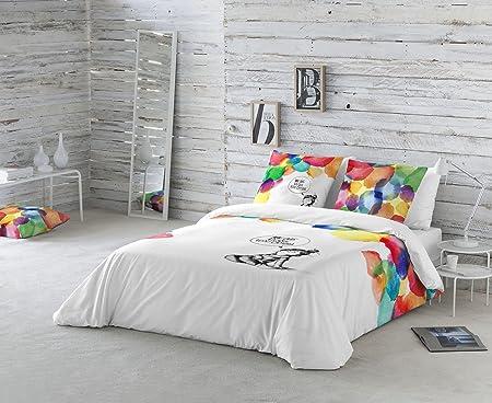 La Volátil Colores Funda nórdica, algodón, Multicolor, Cama 135 cm, 1600: Amazon.es: Hogar