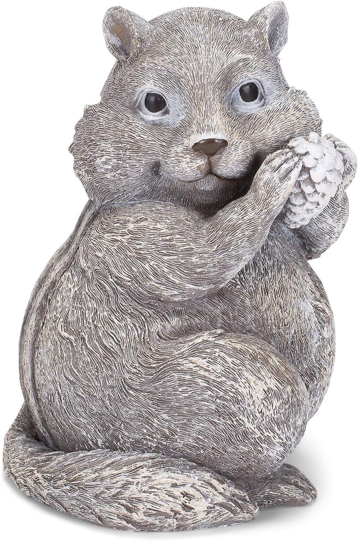 Roman 8-inch Chipmunk Pudgy Pals Statue