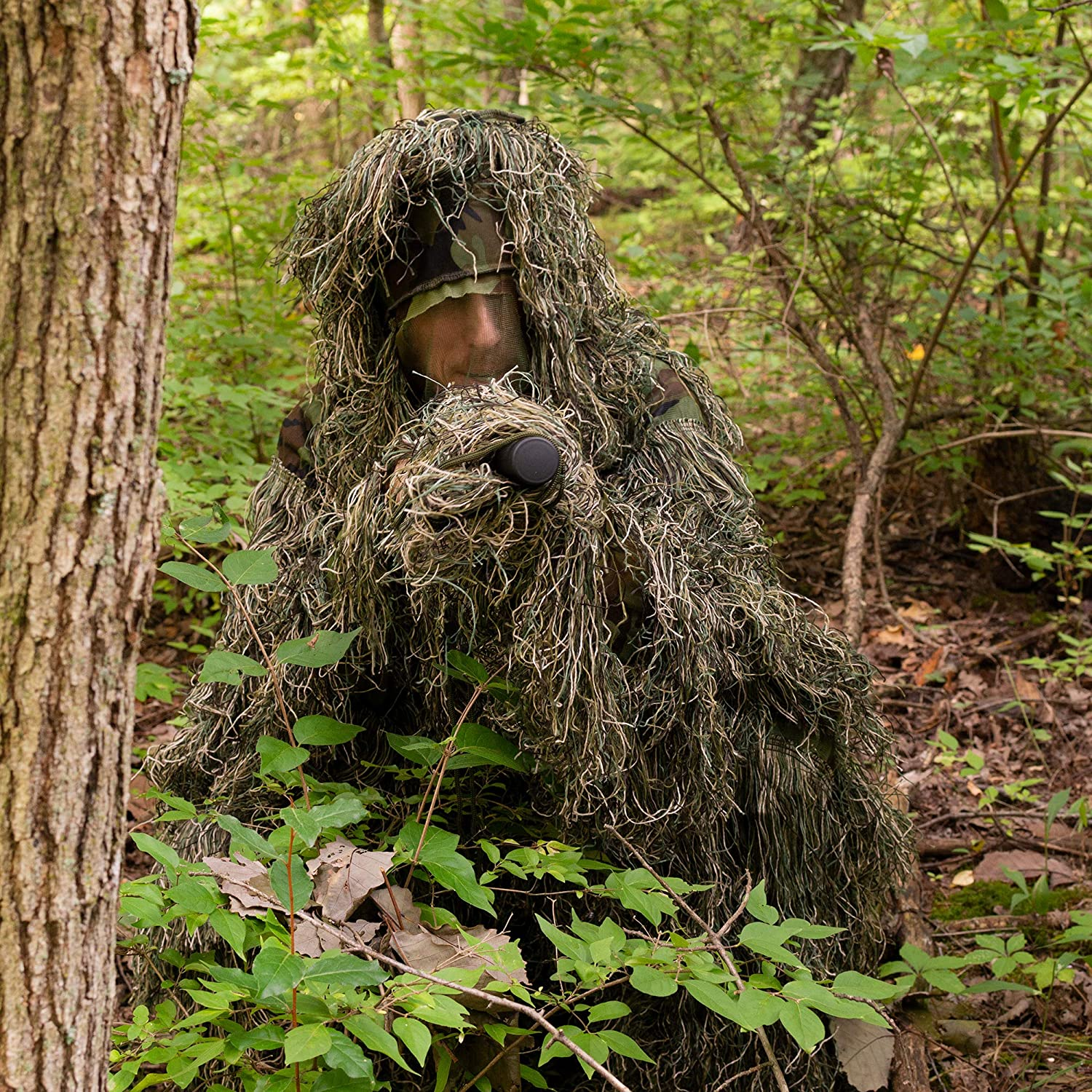 SUNRIS Camouflage Ghillie Costumes pour la Chasse Shooting Airsoft