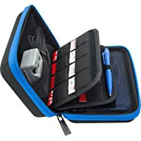 Brendo Carrying Case for New Nintendo 3DS XL, 2DS XL, 3DS Case, Fits Wall Charger, 24 Game Cartridge Holders and Large…