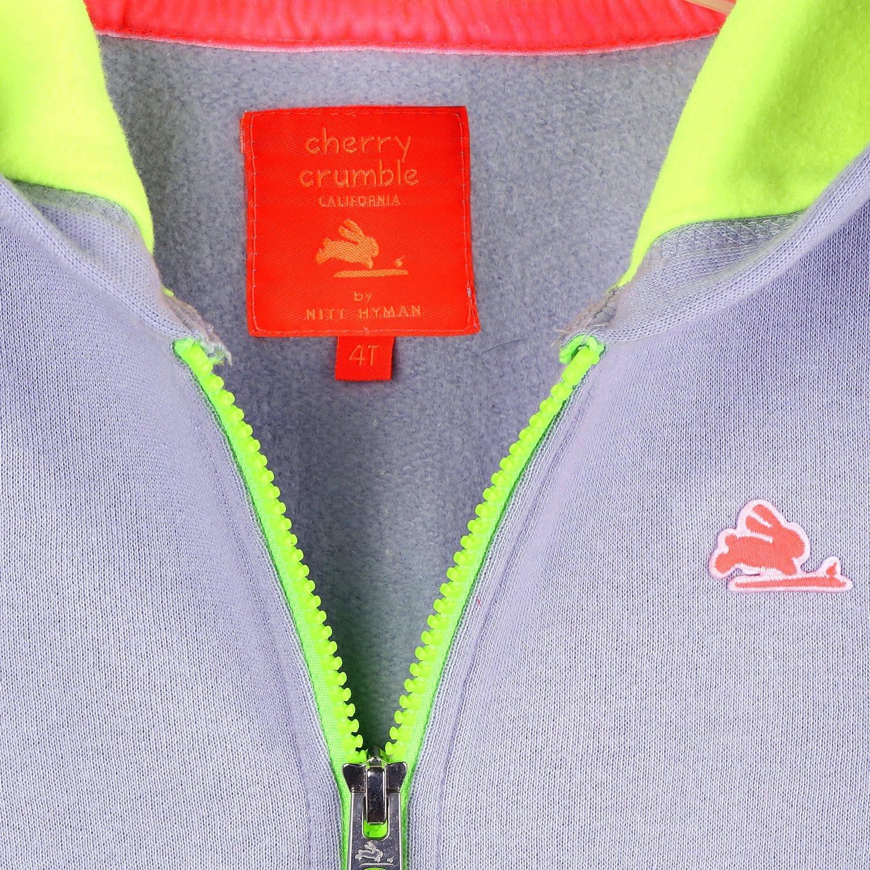 Cherry Crumble Zipper Sports Hoodie for Boys /& Girls