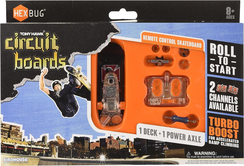 HEXBUG Tony Hawk Circuit Board Power Board Set Télécommande Skateboard