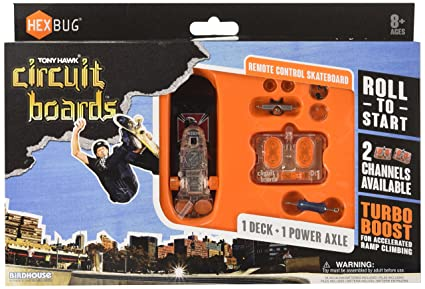 amazon com hexbug tony hawk circuit boards power set remote control rh amazon com hexbug circuit board remote skateboard