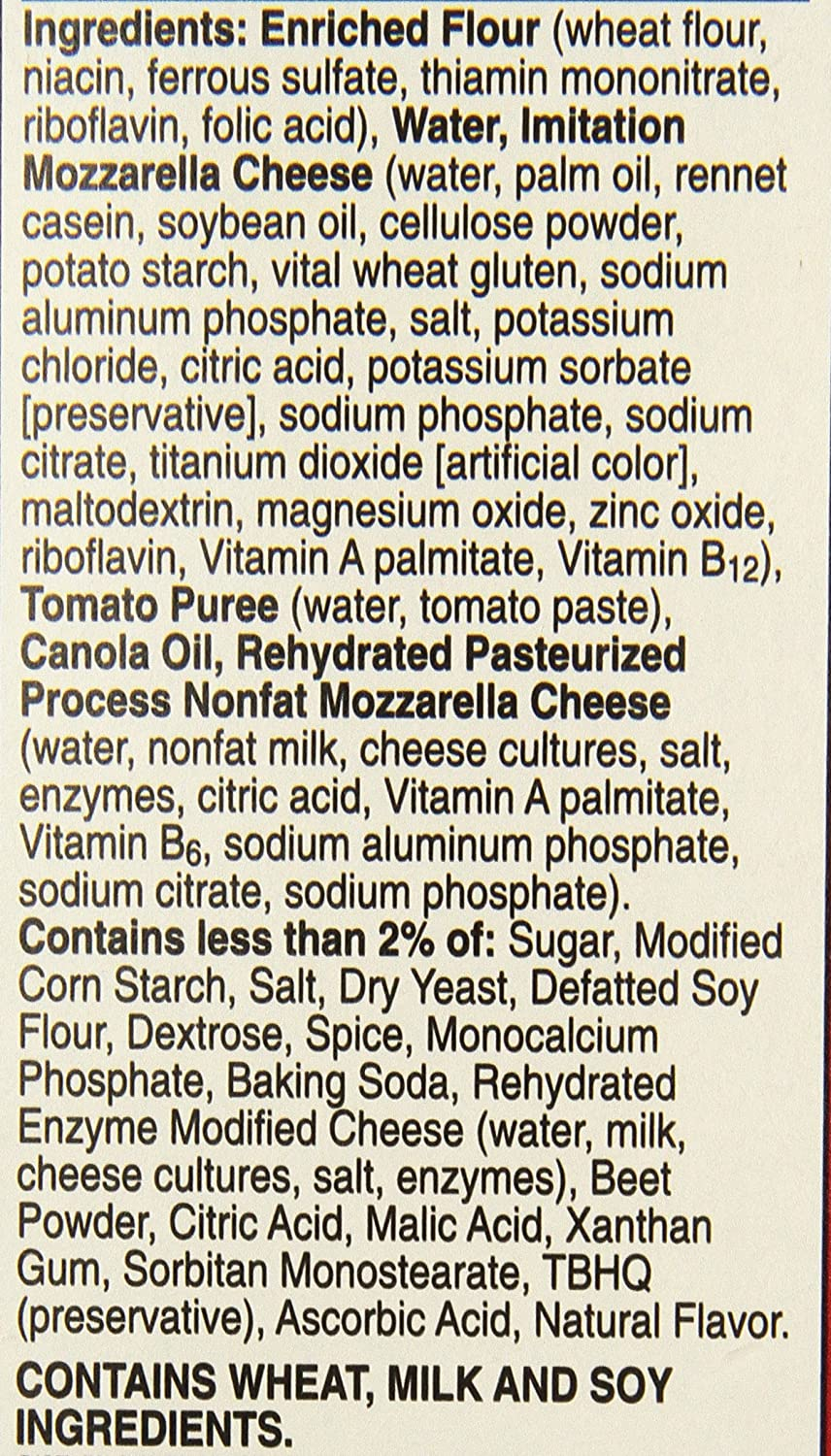 Totinos, Cheese Party Pizza, 9.8 oz (Frozen): Amazon.com: Grocery & Gourmet Food