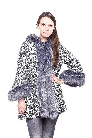 wholesale dealer 8c19e 41f7c Abbino 1176 Mantel Wollmantel Damen Frauen - Made in Italy ...