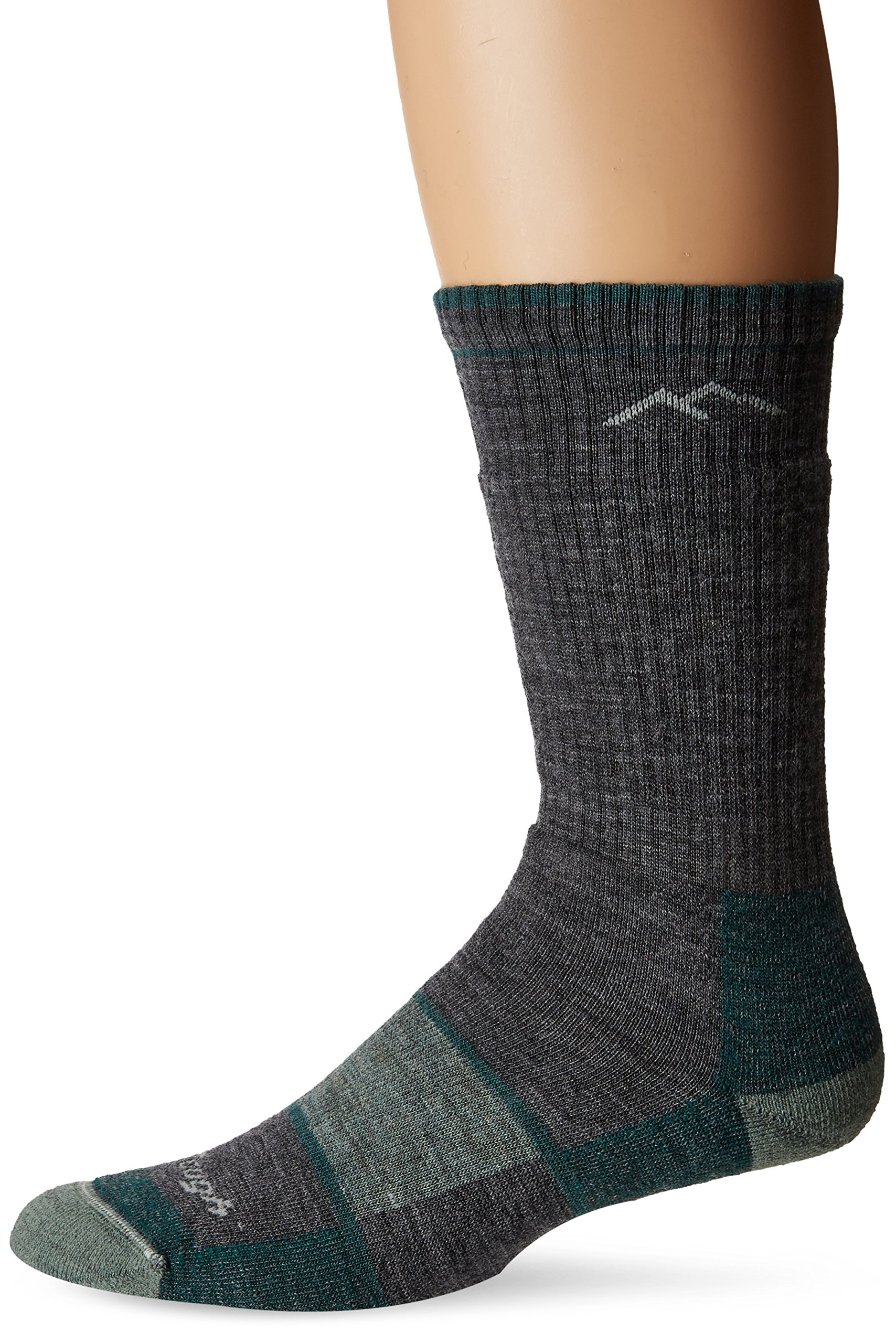 Darn Tough Vermont Women's Merino Wool Boot Socks Full Cushion Slate LG (US 10-11.5) by Darn Tough