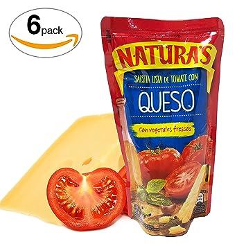 Cheese Sauce - Naturas Salsa De Tomate Con Queso Y Vegetales Frescos | 100% Plant