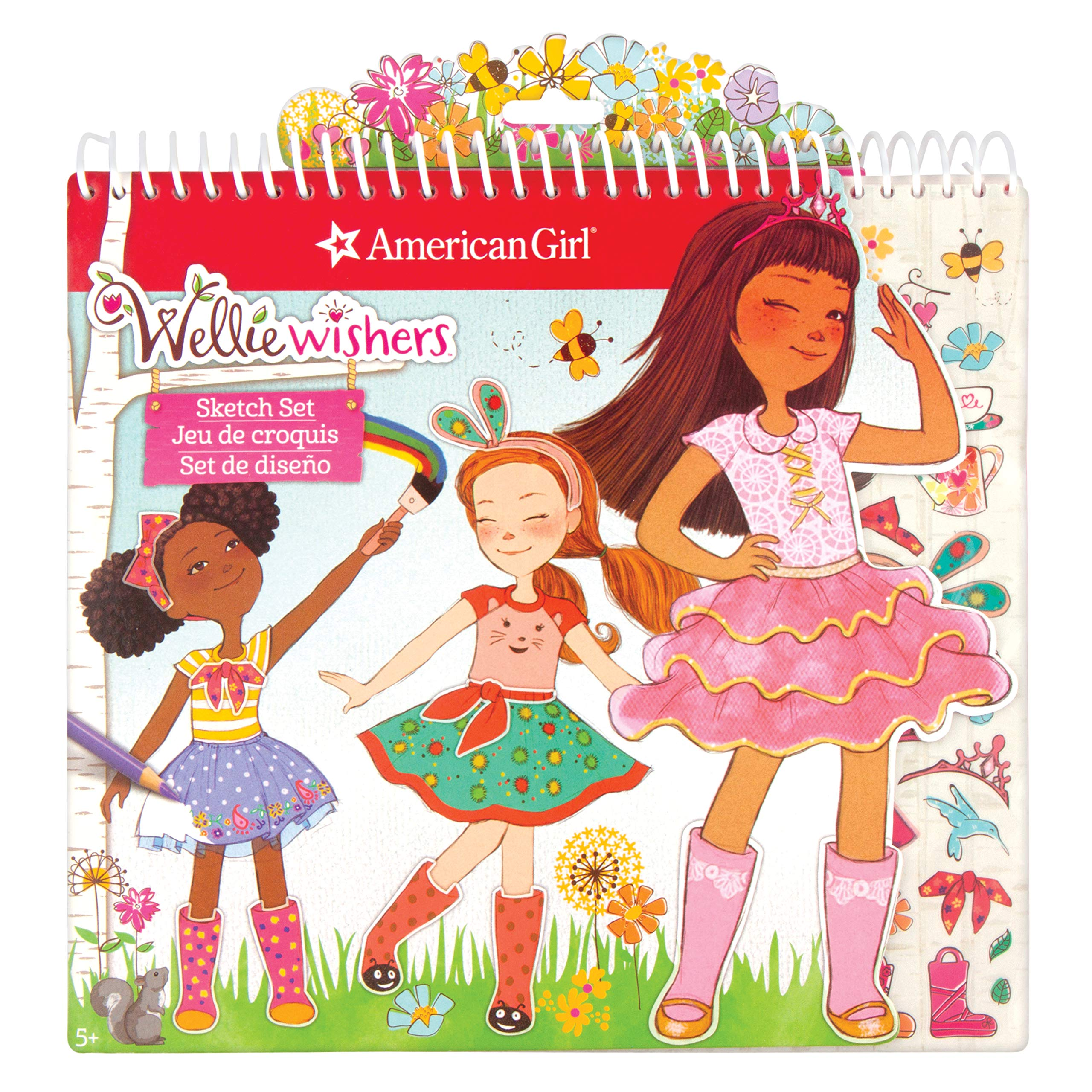American Girl 99001 Wellie Wisher Fashion Sketch Set by American Girl