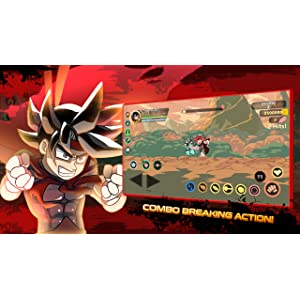 DRAGON COMBO FIGHTER Z Power BALL Go SUPER COMBO BREAK ...
