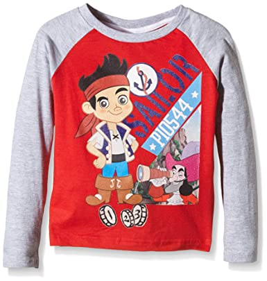 Disney Jake and The Neverland Pirates Pirate Attitude - T-Shirt - Manches  Longues - 5ba2ae8074f1