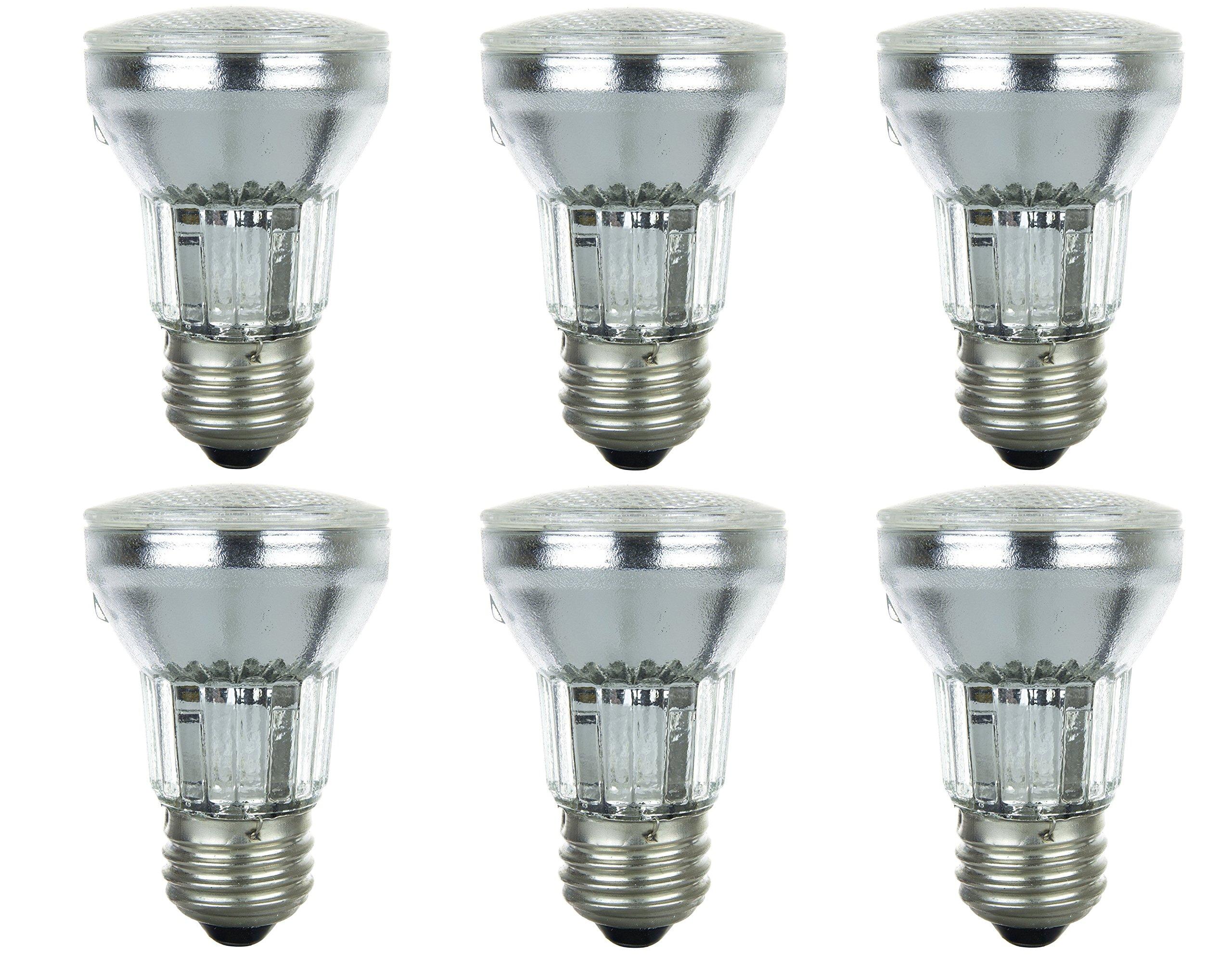 Pack Of 6 60PAR16/FL 120V 60 Watt 60W Dimmable PAR16 Flood 120 Volt Halogen Par 16 Light Bulbs