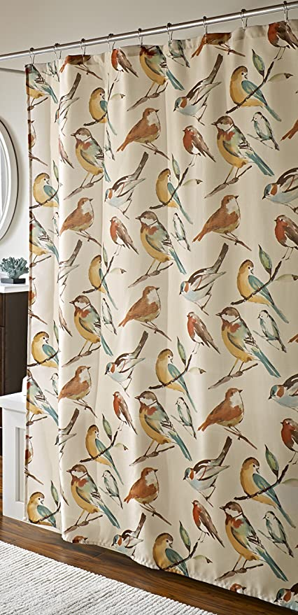 Image Unavailable Not Available For Color Mstyle Chirp Shower Curtain