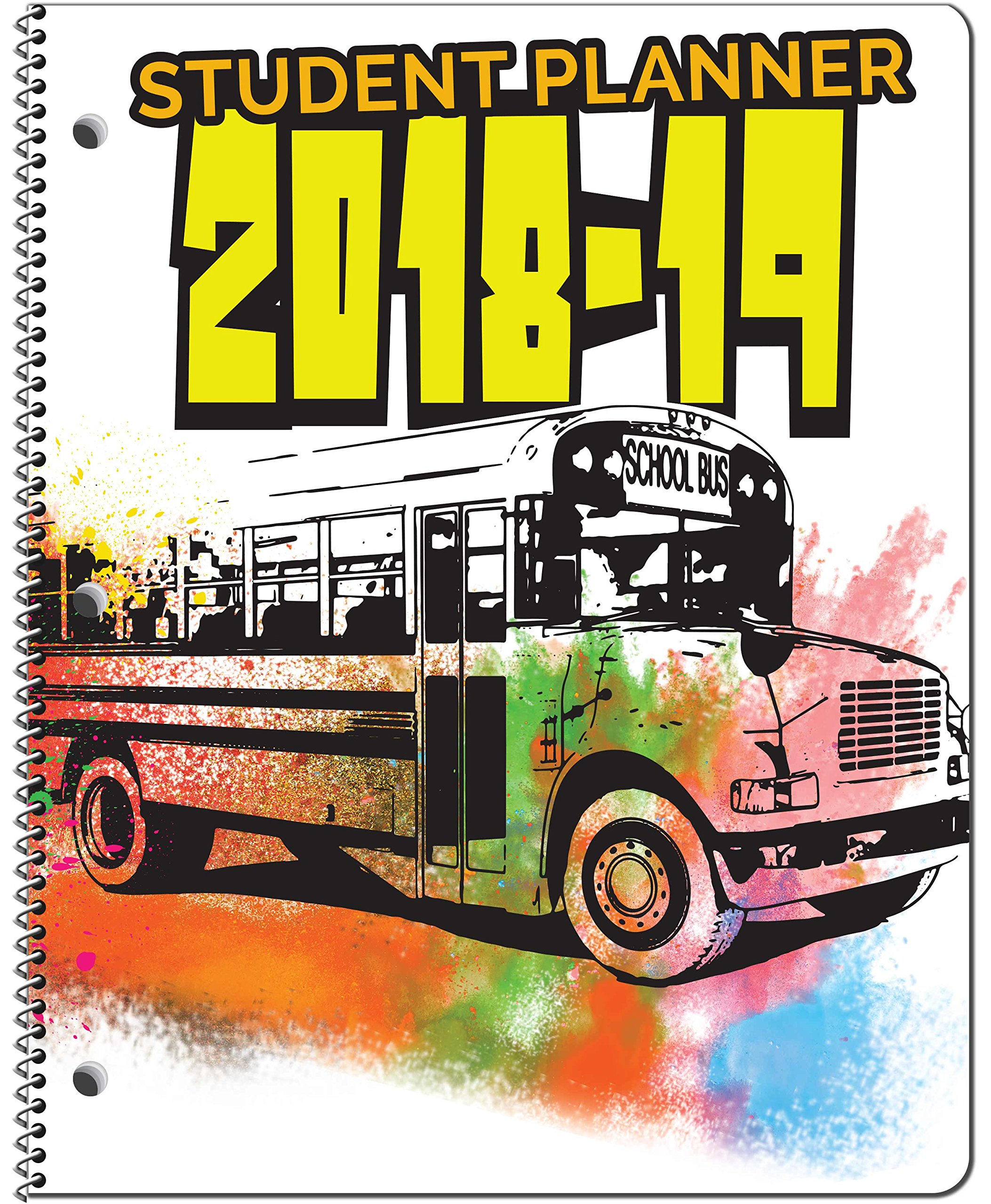 Dated Elementary School Student Planner for Academic Year 2018-2019- Jostens Planner Brand- Sold in packs of 15. (8-1/2'' x 11'').