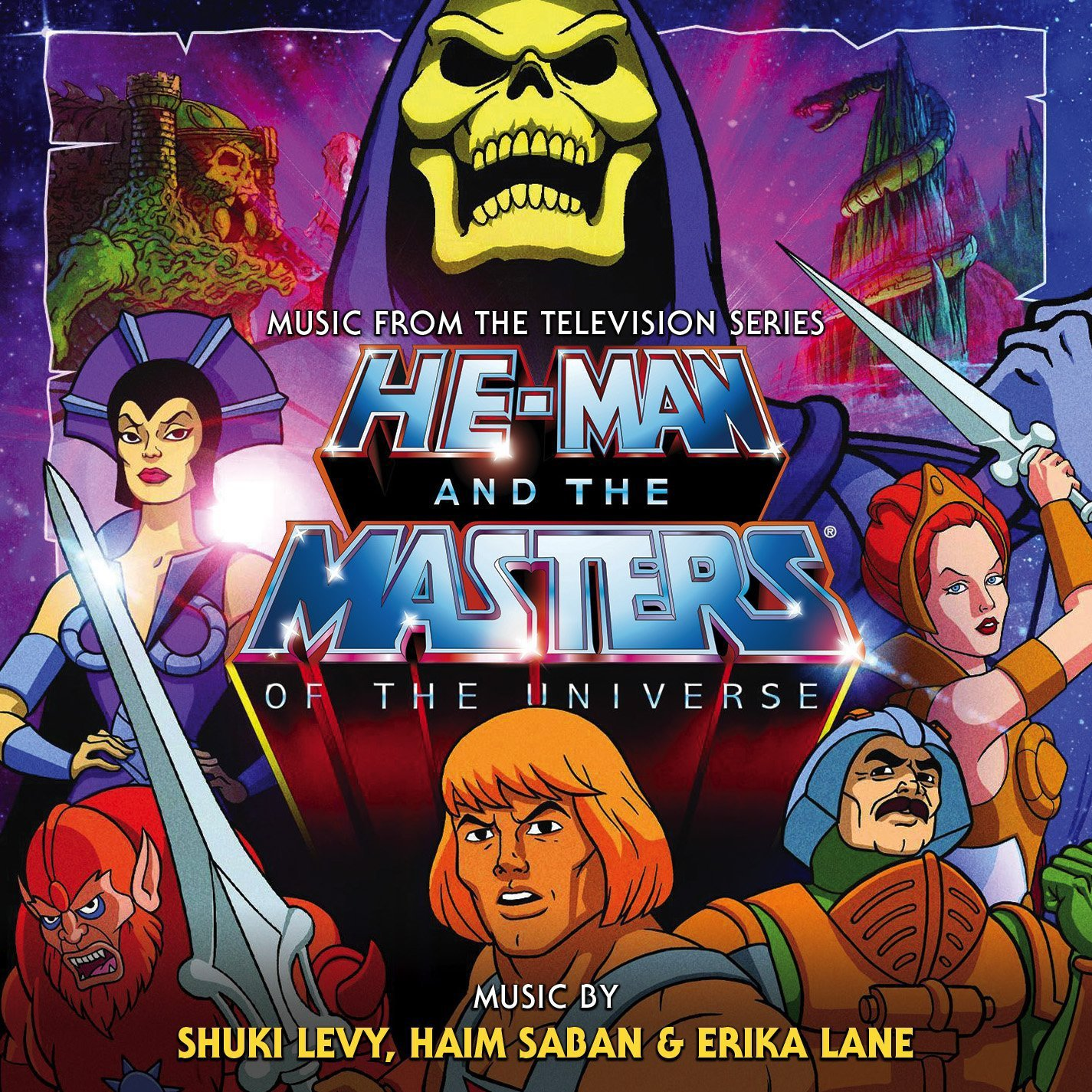 He-Man and The Masters of the Universe: Limited Edition 2 CD SET-Original Soundtrack Recording