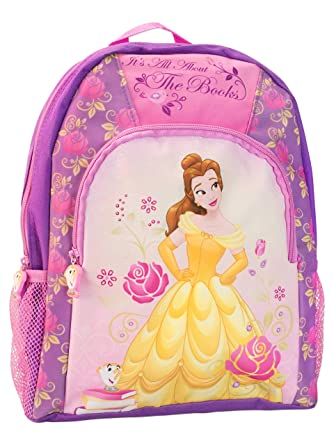 Disney Kids Beauty and the Beast Backpack  Amazon.co.uk  Clothing 4e6da2a7689c5