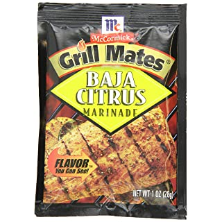 McCormick Grill Mates Baja Citrus Marinade, 1 oz (Case of 12)