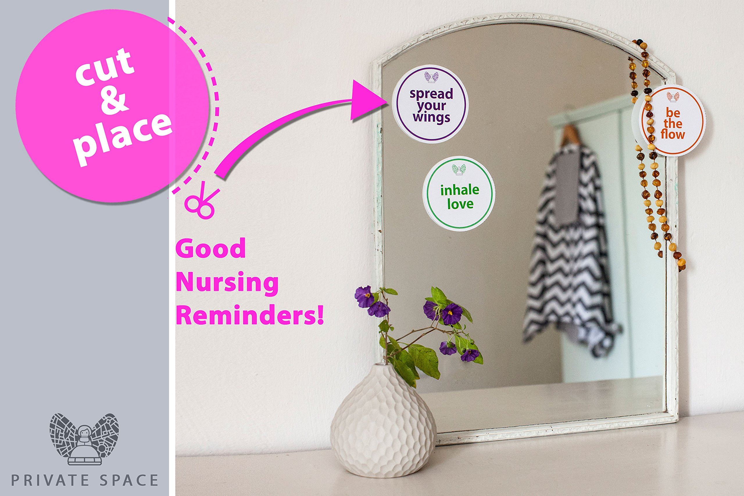 Fair-e-Trade Poncho Rigid Neckline Nursing Cover, 100% Premium Breathable Cotton by Fair-e-Trade (Image #6)