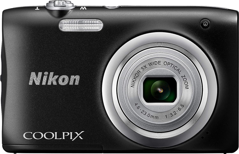 Nikon - Kit cámara Digital coolpix a100 + Estuche + selphie sctick ...