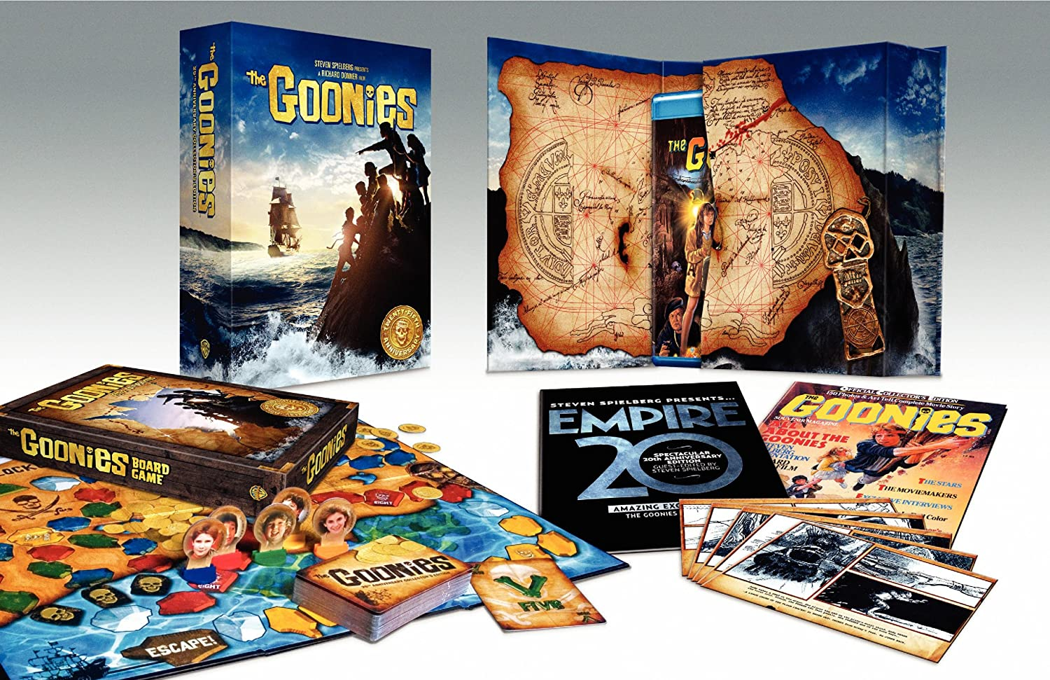 the goonies blu ray 25th anniversary ultimate collector\\\\\\\\\\\\\\\'s edition