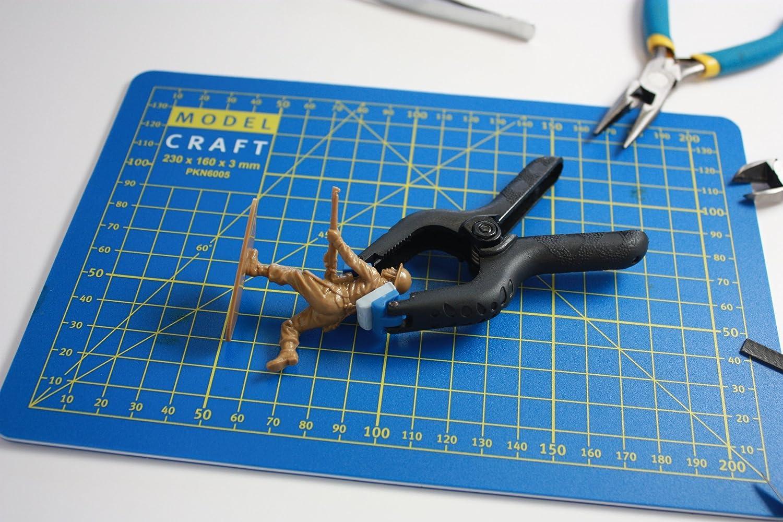 50mm /& 75mm Modelcraft 9-Piece Nylon Grip Clamps Set