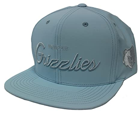 bd8c5336042 Mitchell   Ness 3M Crown   Visor Tonal New Memphis Grizzlies Light ...