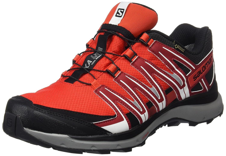 Salomon Herren Xa Lite GTX Traillaufschuhe  44 2/3 EU|Fiery Red/Red Dalhia/Black
