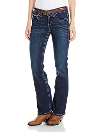 Ariat Women's R.E.A.L. Riding Midrise Bootcut Jean at Amazon ...