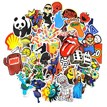 Sticker pack 150 pcsneuleben graffiti sticker decals vinyls for laptop