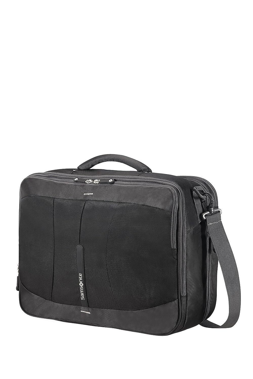 Samsonite 4mation 3-Way Shoulder Bag Exp Mochila Tipo Casual, 36.5 litros, Color Negro/Plateado: Amazon.es: Equipaje