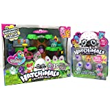 Hatchimals CollEGGtibles The Hatchery Nursery and 4-Pack + Bonus (Styles & Colors May Vary) Bundle
