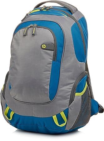 HP Outdoor Sport - Mochila para ordenador portátil, gris y azul