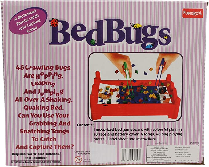Buy Funskool Bed Bugs Board Game Multi Colour Online At Low Prices