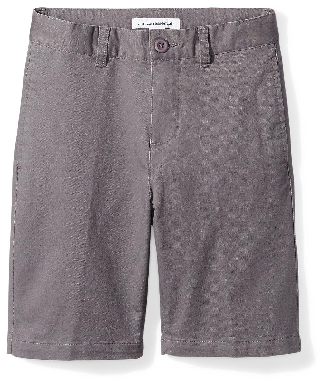 Amazon Essentials Boys Boys' Flat Front Uniform Chino Short BAE65010SP18