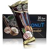 Oskri Dark Chocolate Coconut Bars - 53g - 20 pack