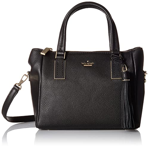 d8f38420d7bc Kate Spade New York Women's Kingston Drive Small Alena Satchel, Black, One  Size