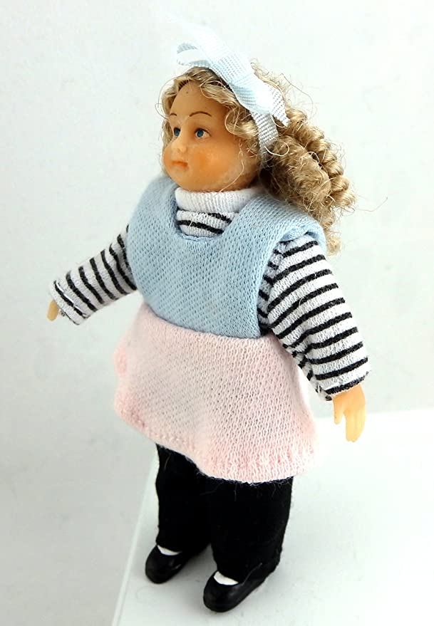 Dollhouse Miniature Baby Doll....standing up G7606E