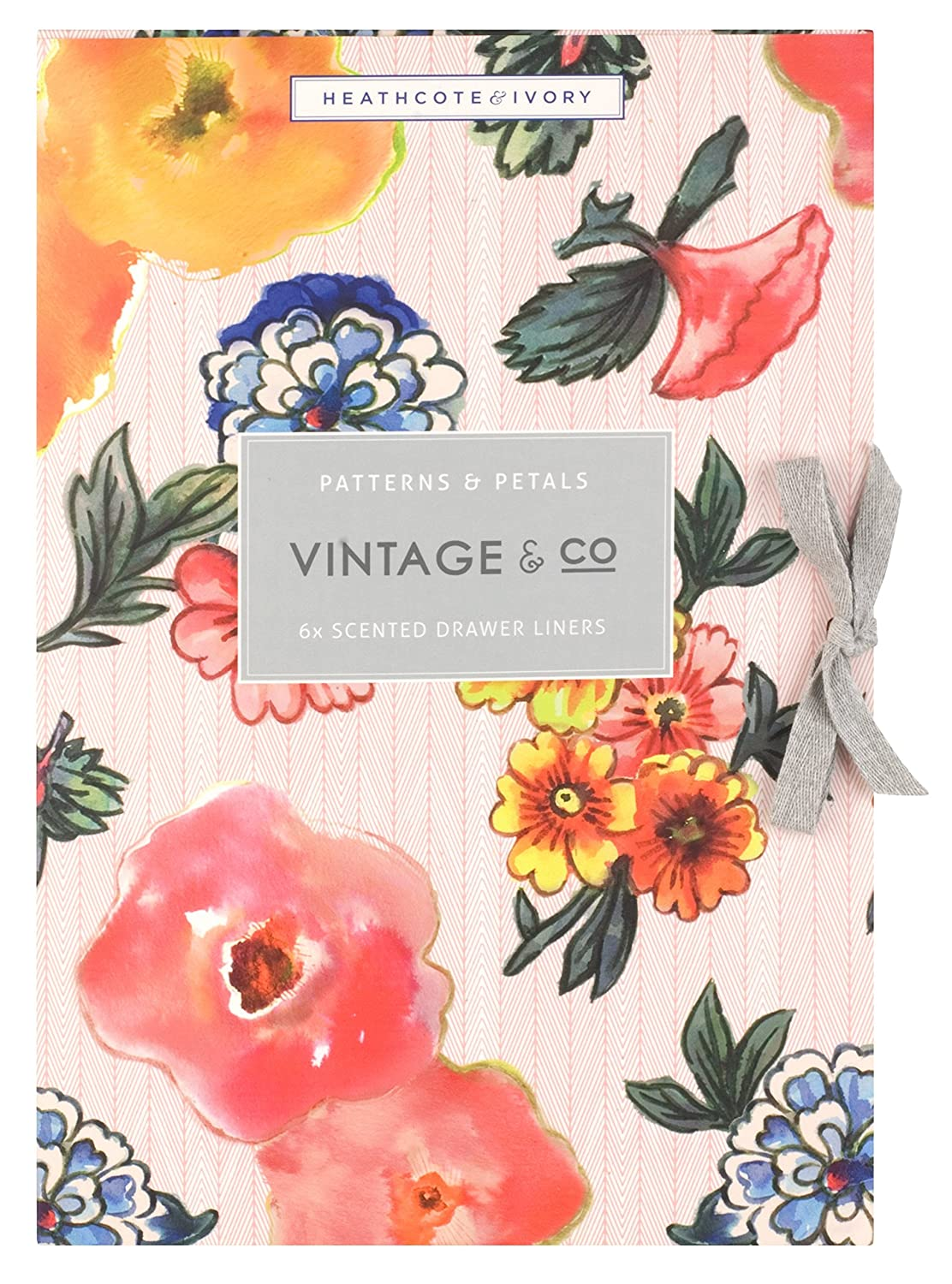 Vintage & Co Patterns & Petals Scented Drawer liners by Vintage & Co FG3002