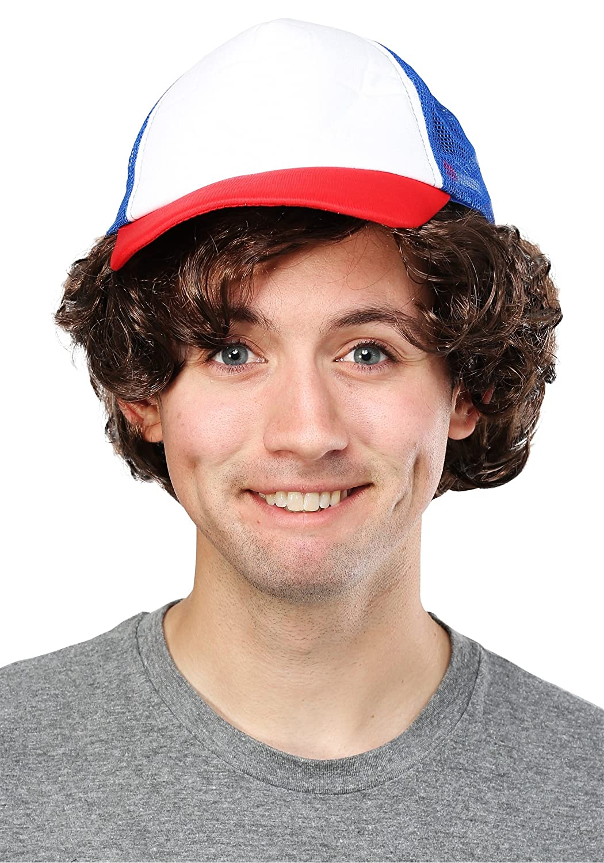Strange Stuff Adult Wig and Baseball Hat - ST Fun Costumes